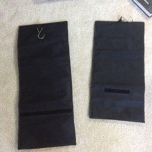 Macy's Storage & Organization - Black Zipper Pouch Hanging Jewelry Hangers